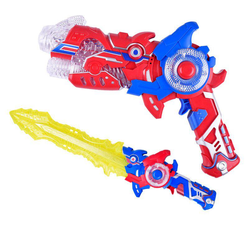 Trendy Children's Electric Deformation Toy Sword Two-in-one Toy