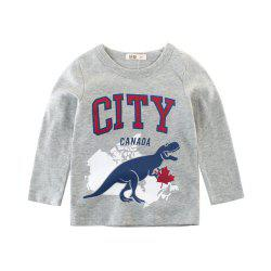 2019 Children'S Clothing Spring Boy Long Sleeve Cotton Baby Bottoming Shirt -
