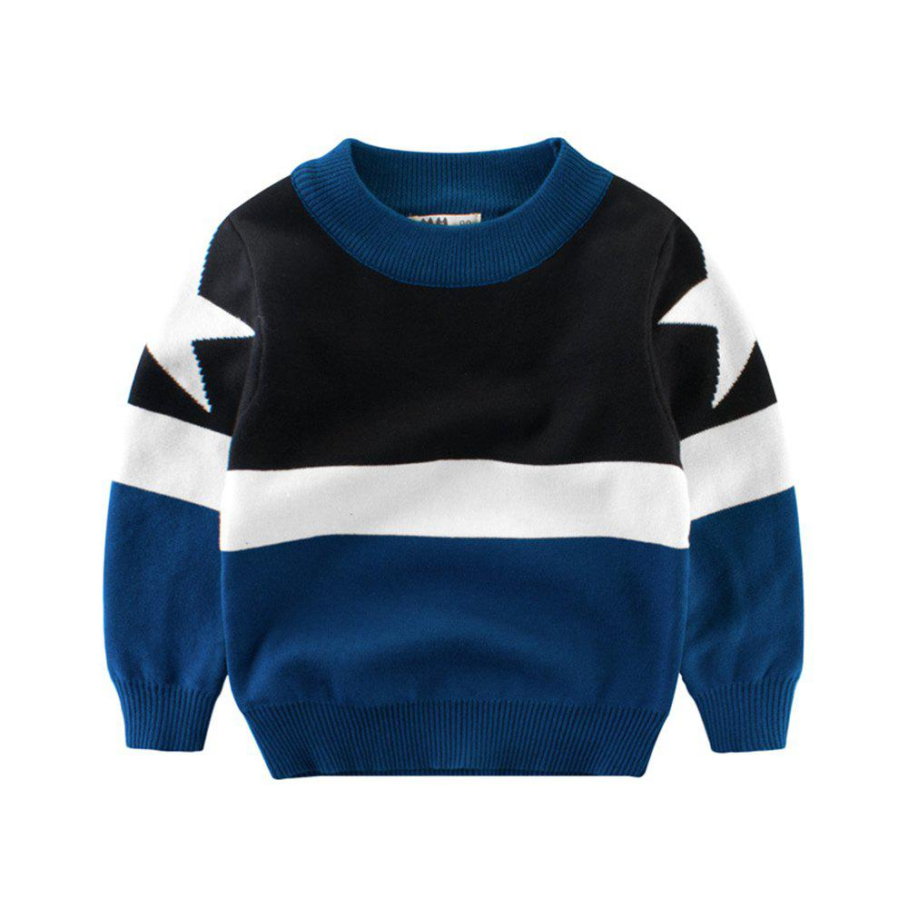 Buy Children'S Color Matching New Sweater Boy'S Sweater Baby Clothes
