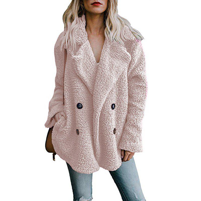 Shops Women Winter Coat Cardigans Ladies Warm Jumper Fleece Faux Fur Coat