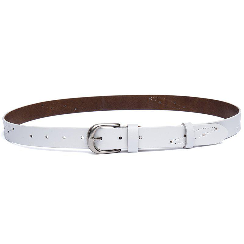 Discount New Casual 2ND Floor Cowhide Lady Belt Fashion Pin  Belt