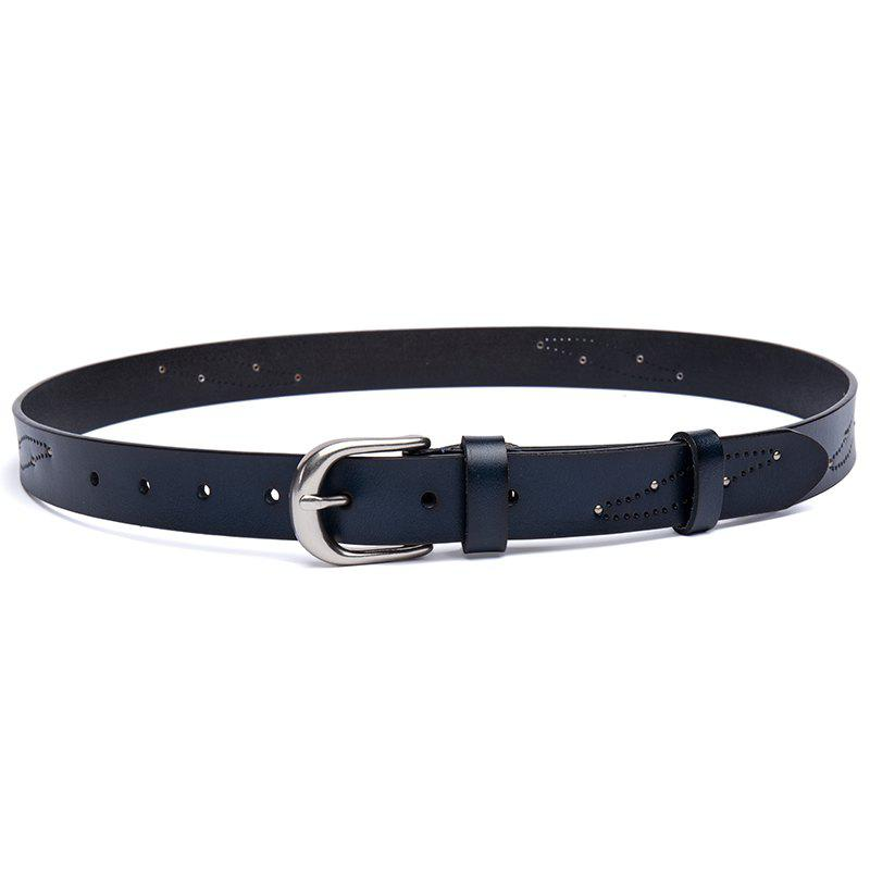 Affordable New Casual 2ND Floor Cowhide Lady Belt Fashion Pin  Belt