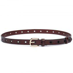 The New Cowhide Pin  Women'S Belt Fashion Five Star -