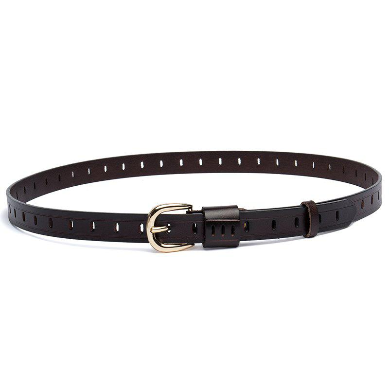 Hot New 2ND Floor Cowhide Belt Casual Pin  Ladies Belt