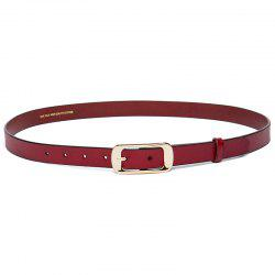 Cowhide Woman Belt Casual Pin  Ladies Belt -