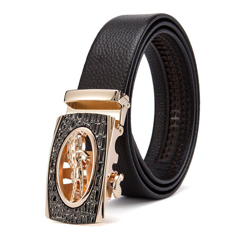 Outfits Business Casual Head Layer Cowhide Man Belt  Head
