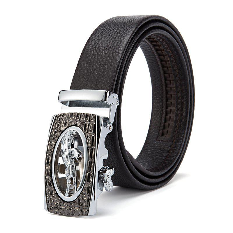 Outfit Business Casual Head Layer Cowhide Man Belt  Head
