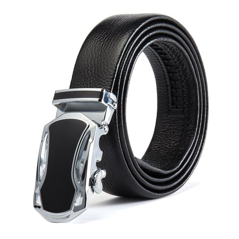 Fancy New Fashion Sports Car Men'S Belt Head Layer Cowhide Men'S Belt