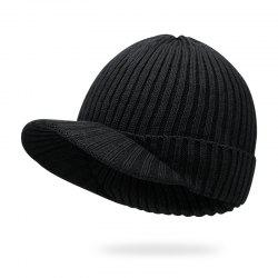 There is a knit cap + elastic fit for 55-58CM head circumference -
