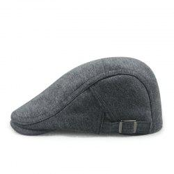 Sweater cloth beret + adjustable on both sides - suitable for 56-58cm head circu -