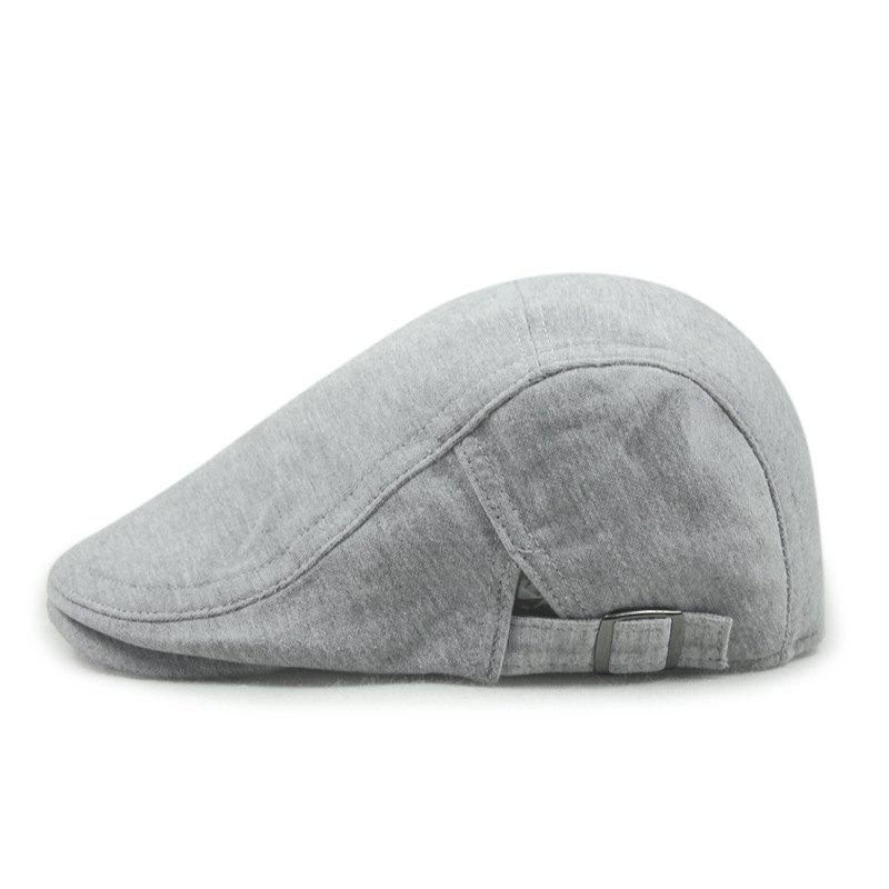 Fancy Sweater cloth beret + adjustable on both sides - suitable for 56-58cm head circu