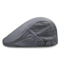 Canvas beret + size code for 56-59cm head circumference -