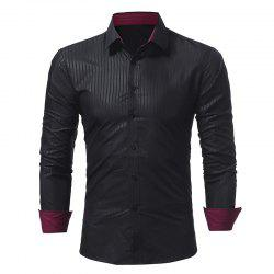 Chemise Casual Stripes Homme -