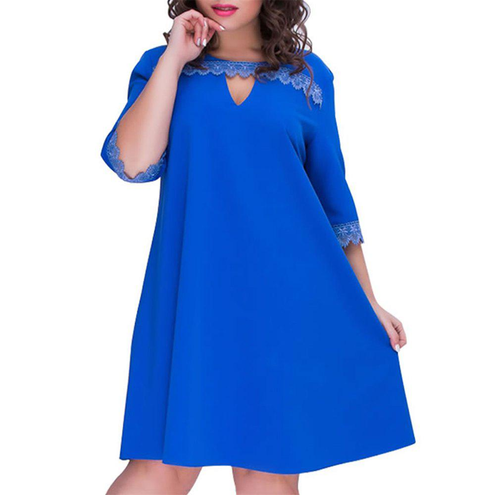 427f248601d5 Discount Casual Women Dress Plus Size A-line Style Summer Dress Female 2019  Fashion