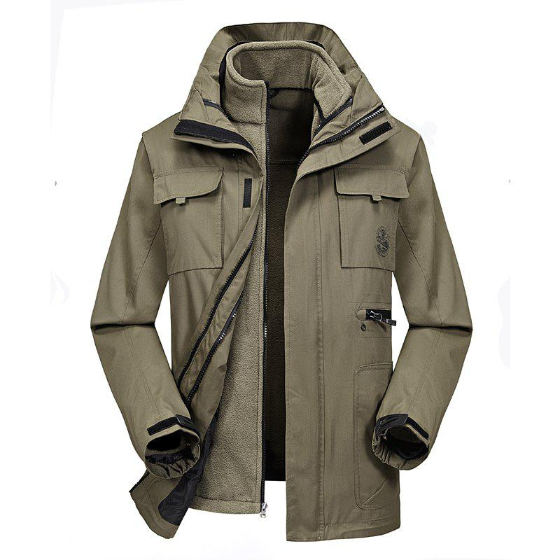 Sale Men'S Outdoor Sports Waterproof Breathable Clothing Two-Piece Set