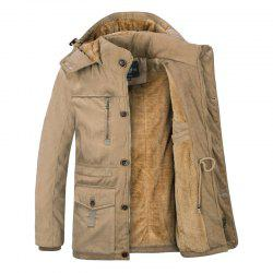Middle-Aged Men'S Cotton Coat -