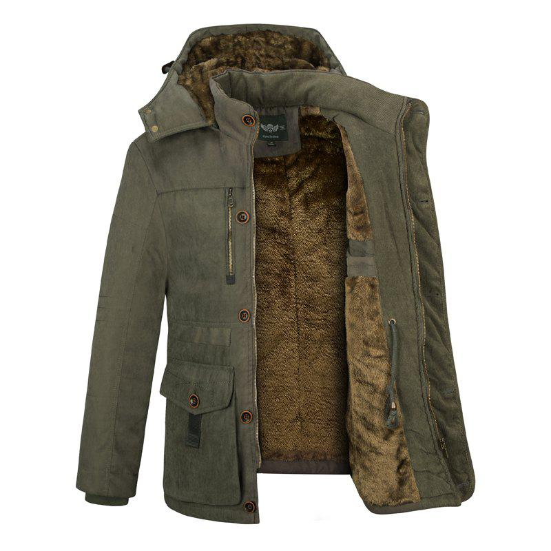 Sale Middle-Aged Men'S Cotton Coat