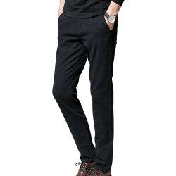 Men's Slim Fashion Solid Color Casual Pants -