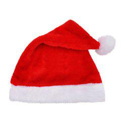 A Plush Santa Hat for Christmas -