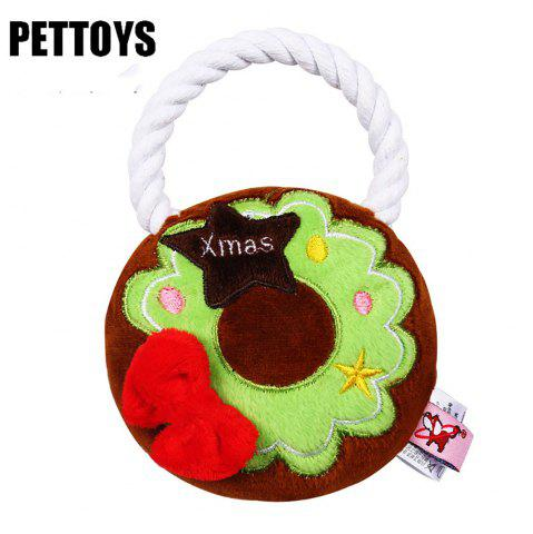 Pet Dog Vocal Toy Teddy Bear Poodle Pet Products Очищает зубы и зубы Зубы T