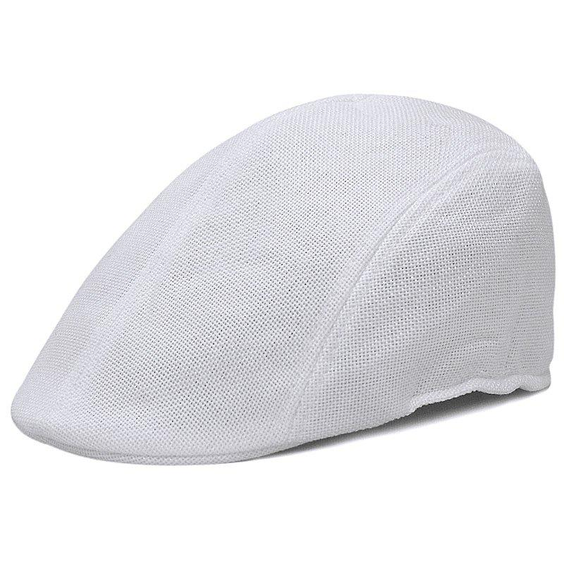 New Linen breathable beret + size code for 56-58CM head circumference
