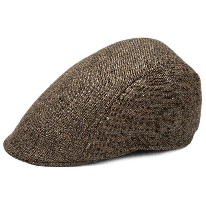 Buy Linen breathable beret + size code for 56-58CM head circumference