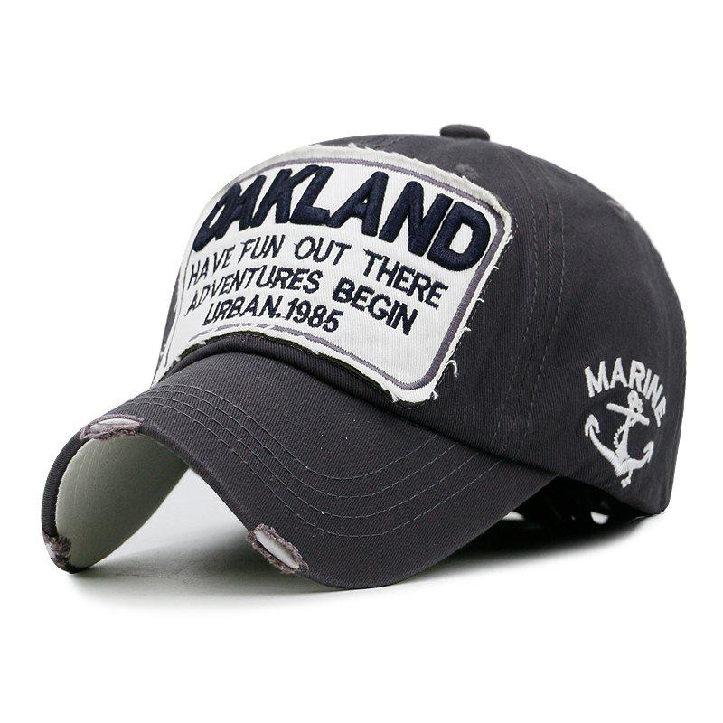 Chic Washed cotton baseball cap + average size can be adjusted (55-60cm)