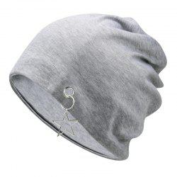 Five-pointed star fashion empty top hood cap + one size has elasticity -