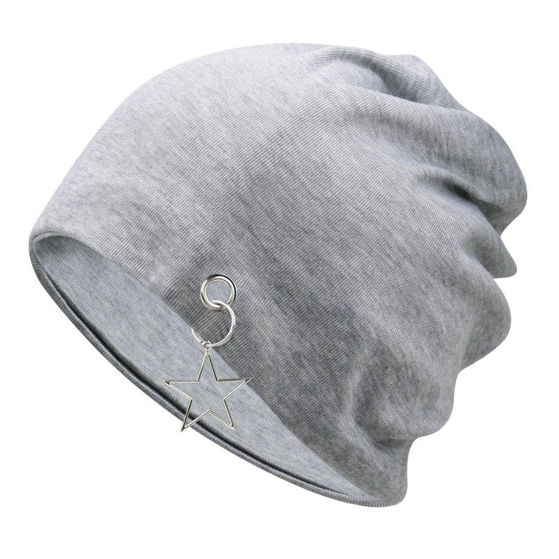 Best Five-pointed star fashion empty top hood cap + one size has elasticity
