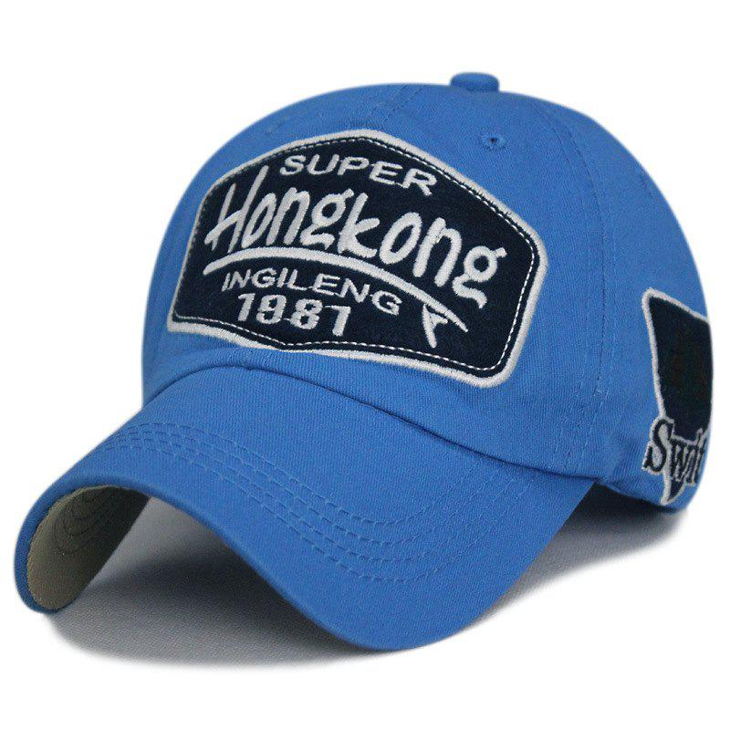 Online Patch letter embroidery baseball cap + adjustable size (56-60CM)