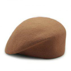 Wool stewardess hat + code - suitable for 55-58cm head circumference -