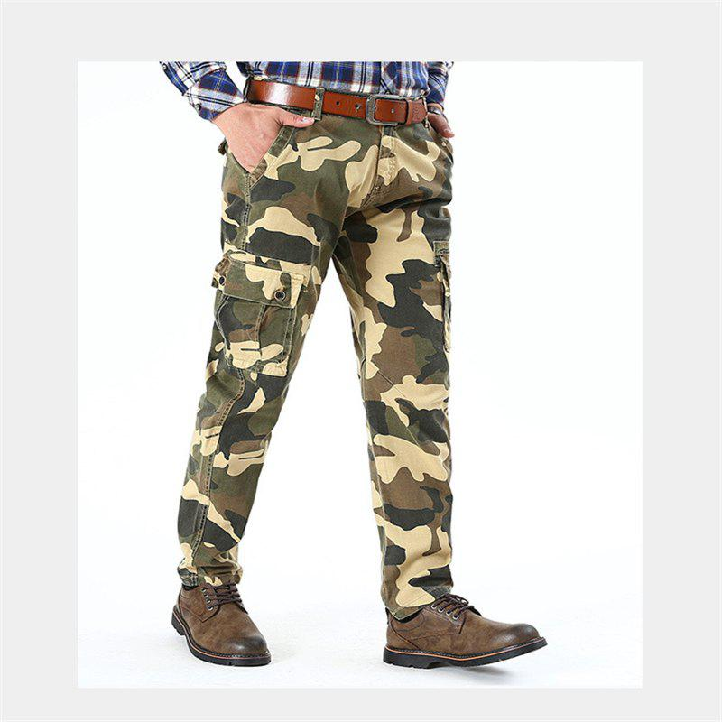 Chic Men Outdoor Camouflage Pants