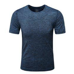 Men'S Outdoor Sports Leisure Summer Fast Dry Short Sleeve T-Shirt -