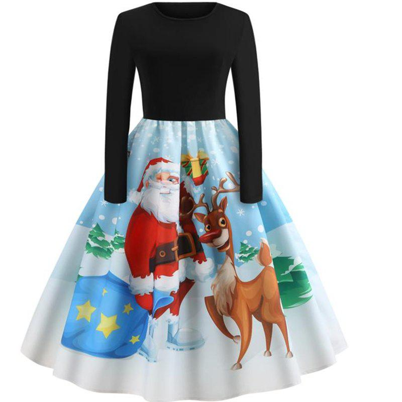 Latest Long sleeved Christmas dress