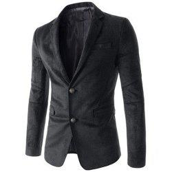New Man Fashion Micro Fabric Casual Solid Blazer Coat -
