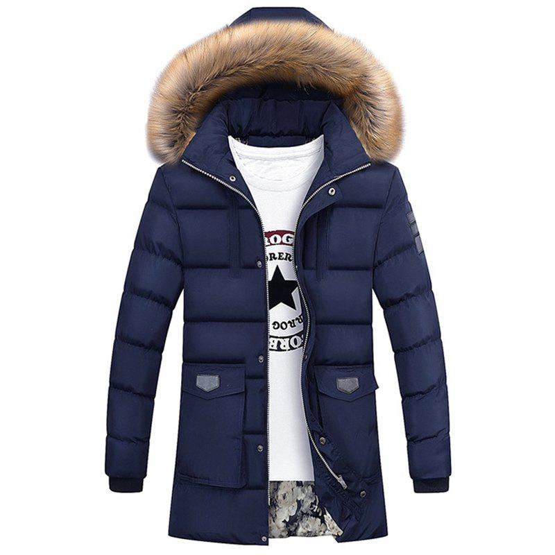 New Man Fashion - Parka à capuche et longue capuche