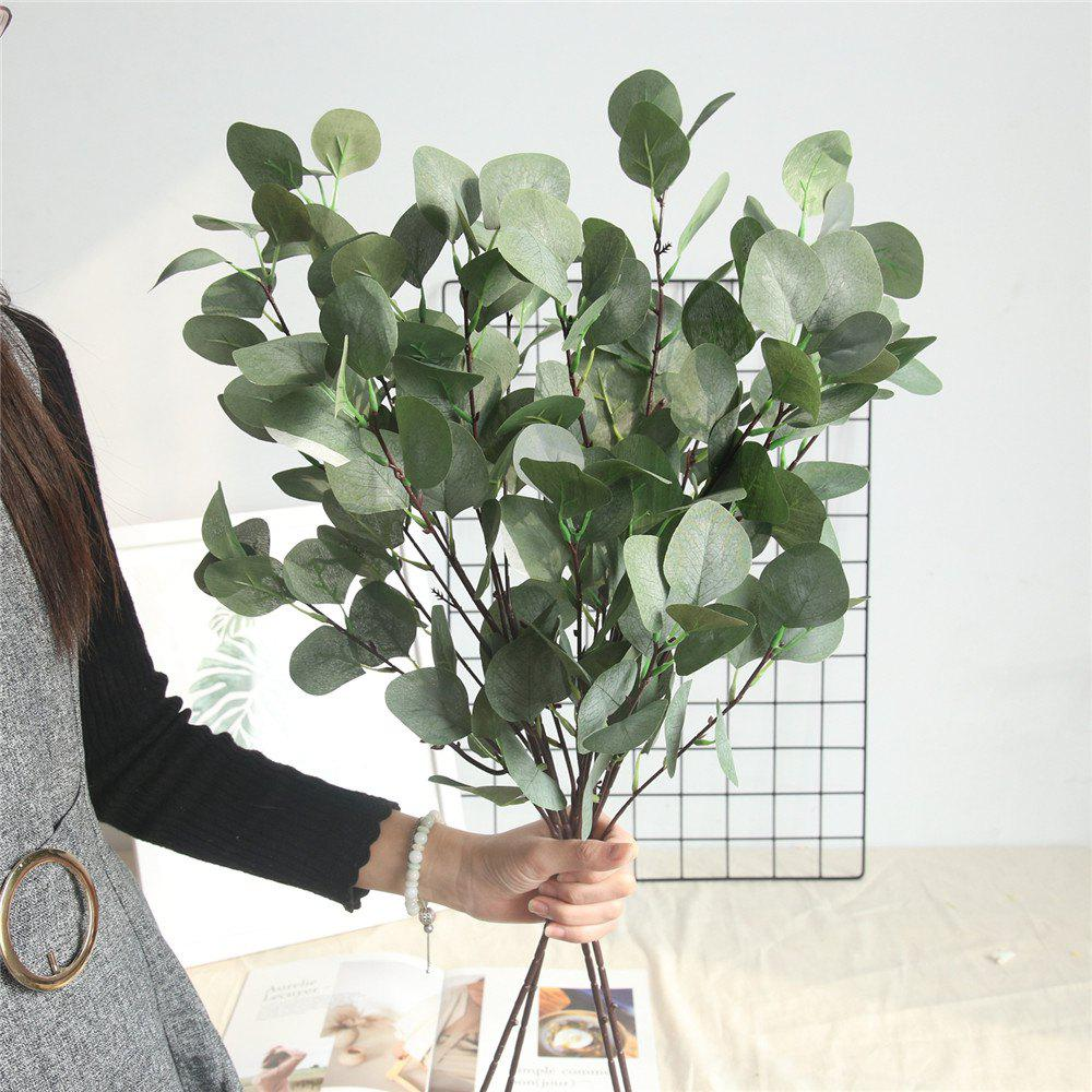 Store Artificial Eucalyptus Leaves Home Wedding Party Decorations Artificial Flowers
