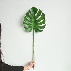 Simulation Monstera Leaves Home Wedding Decorations Artificial Flowers -