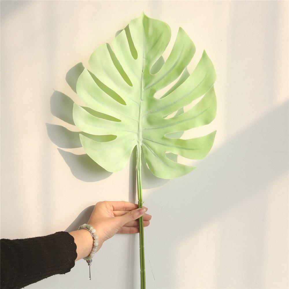 Unique Simulation Monstera Leaves Home Wedding Decorations Artificial Flowers