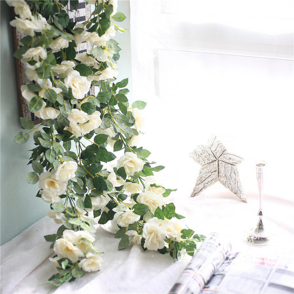 Affordable Vivid Rose Artificial Flowers Wedding Home Wall Hanging Decorations