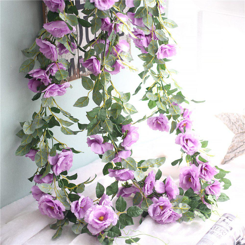 Latest Vivid Rose Artificial Flowers Wedding Home Wall Hanging Decorations