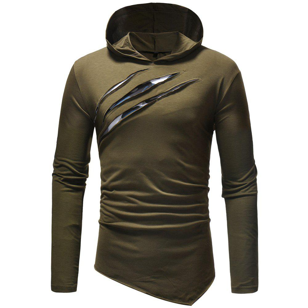 Shops New fashion Men's Leisure  Self-Cultivation  Hat and Long Sleeve T-Shirt