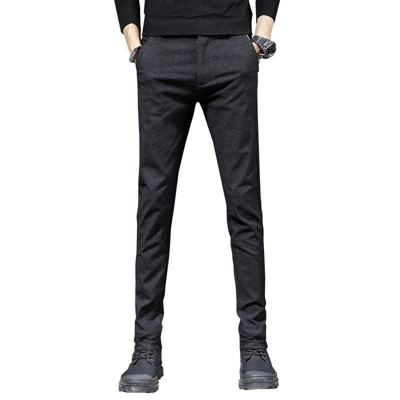 Cheap Men'S Fashion Casual Pants Trend  Version of Slim Trousers Trousers 1025