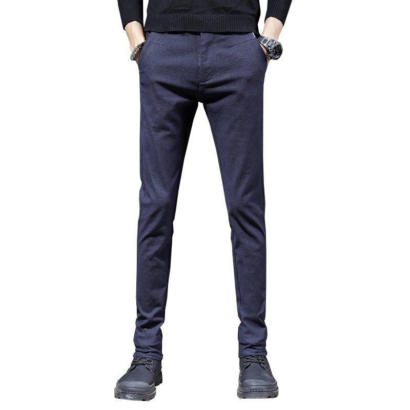 Shops Men'S Fashion Casual Pants Trend  Version of Slim Trousers Trousers 1025