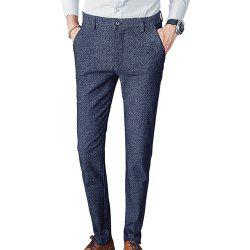Men's Straight Slim Fit Casual Pants -