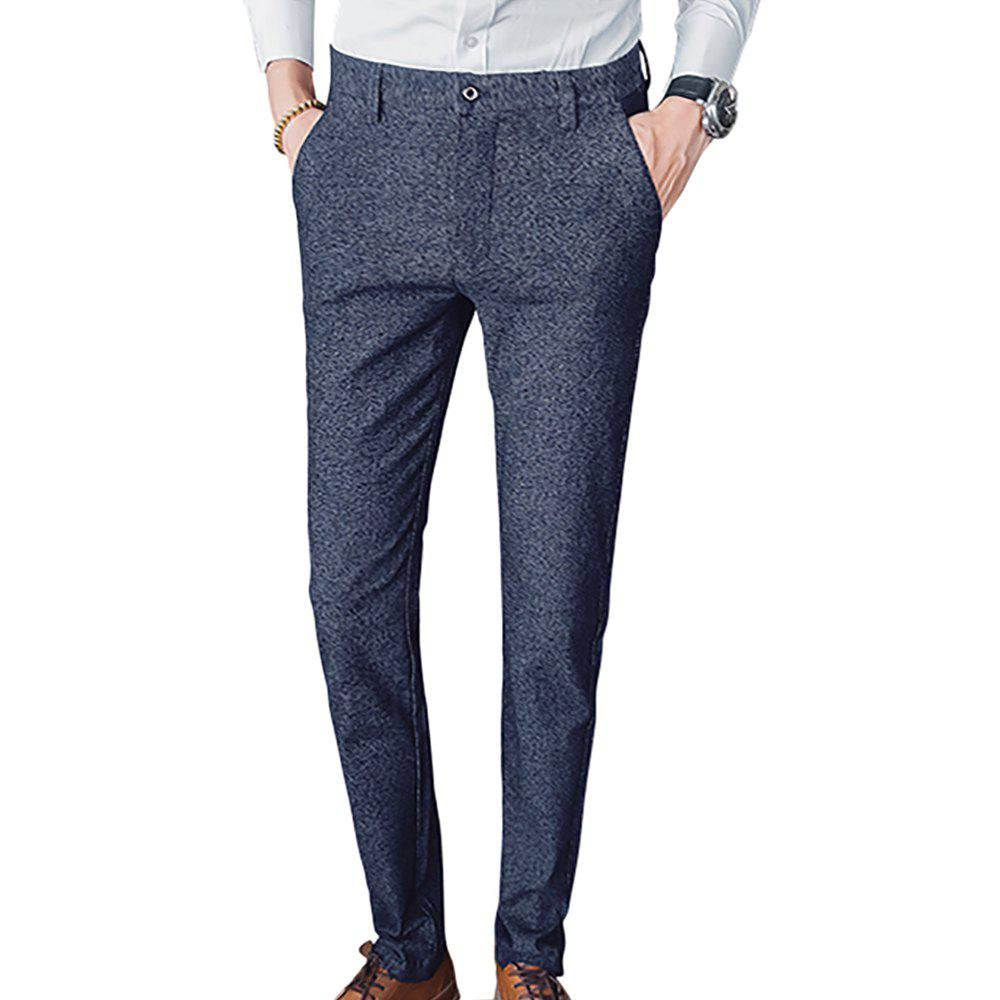 Latest Men's Straight Slim Fit Casual Pants