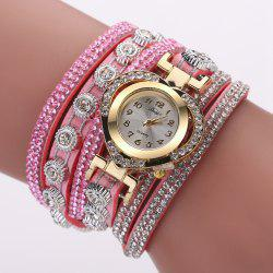 Duoya D259 Montre de diamants avec diamants à la mode -