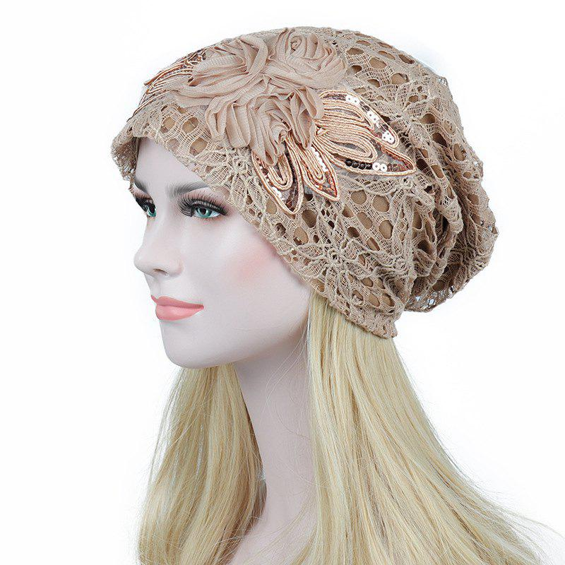 Outfits New Woman Fashion Breathable Floral Lace Hat
