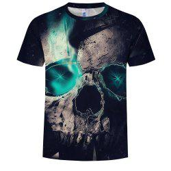 3D Fashion Men's Print Magical Stone T-Shirt -