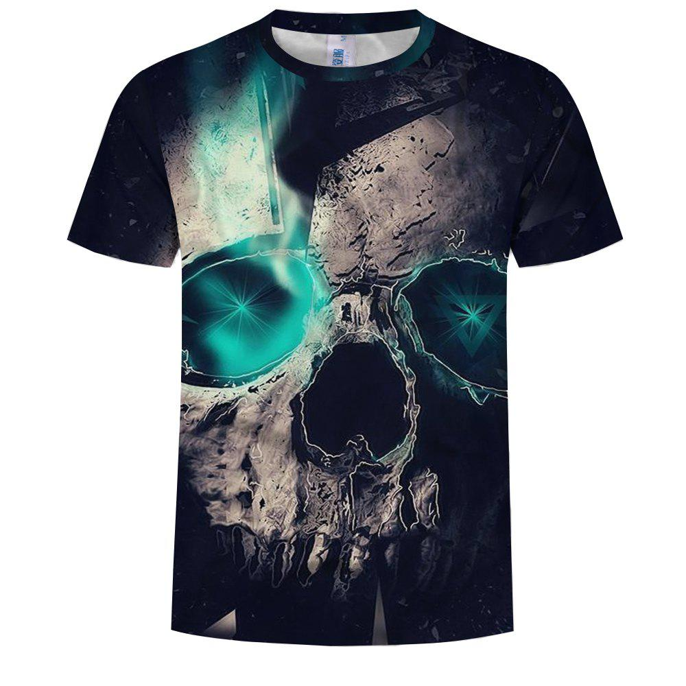 Chic 3D Fashion Men's Print Magical Stone T-Shirt